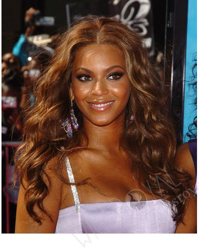 Beyonce Celebrity Custom Wigs for African Americans CLB-C-015