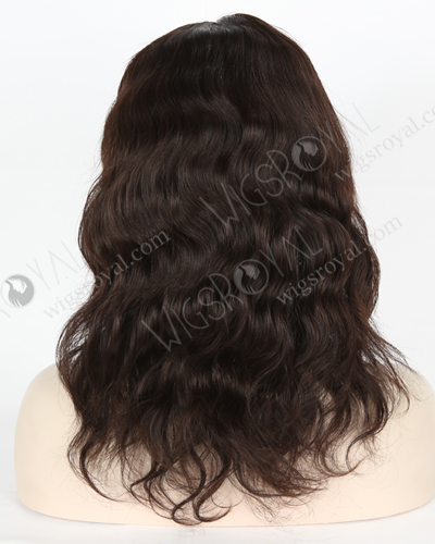 "In Stock Brazilian Virgin Hair 12"" Natural Wave Natural Color Glueless Wig GL-04066"