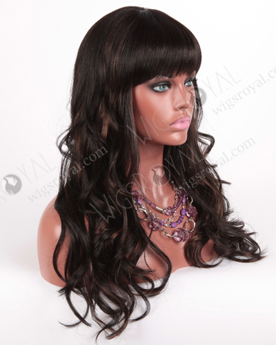 In Stock Normal Synthetic Wig Long Wavy BOA-1BF30#