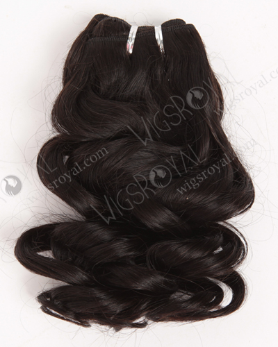 "In Stock Brazilian Virgin Hair 18"" Ocean Wave Natural Color Machine Weft SM-4145"