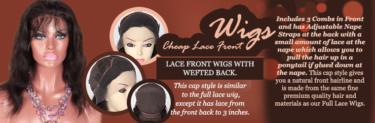In Stock Cheap Lace Front Wigs