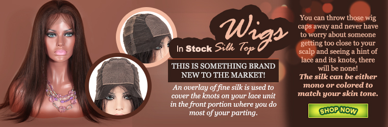 In Stock Silk Top Wigs