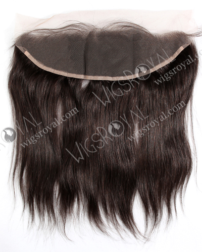 "In Stock Indian Remy Hair 14"" Straight Color 2# Lace Frontal SKF-038"